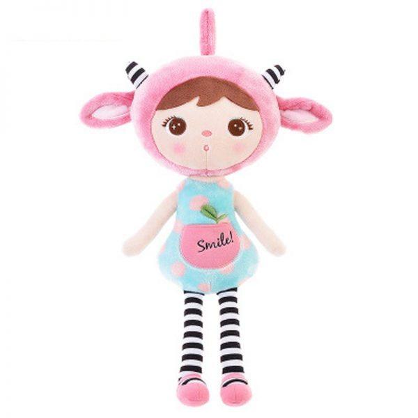 Мягкая кукла Metoo Angela Boneka Pink