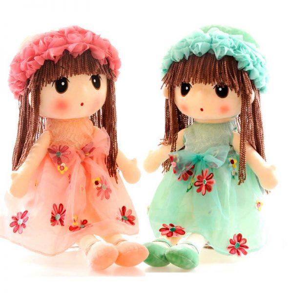 Мягкая кукла Цветочная фея