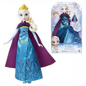 Кукла Эльза в трансформирующемся платье от бренда Hasbro